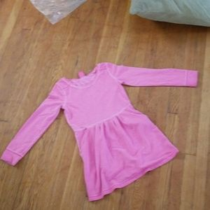 Pink kids comfy dress